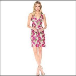 Dress the Population Mina Floral Crochet NWOT